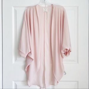Pins & Needles Baby Pink Lightweight CoverUp Shawl